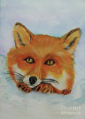 Painting - Red Fox by Lorah Tout