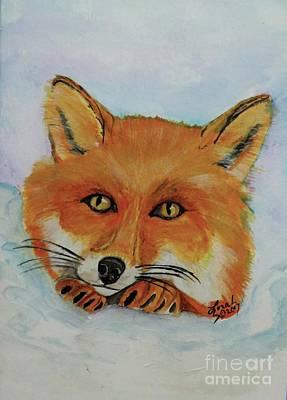Painting - Red Fox by Lorah Buchanan