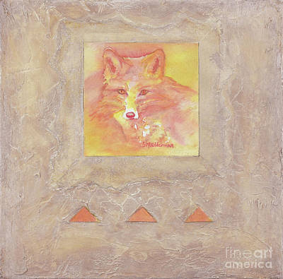 Painting - Red Fox by Sandra Neumann Wilderman