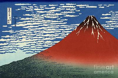 Painting - Red Fuji by Roberto Prusso