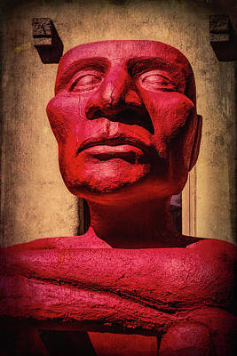 Photograph - Red God Of No Fear by Garry Gay