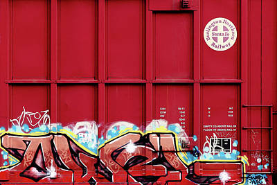 Photograph - Red Graffiti by Todd Klassy