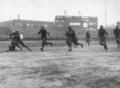 Photograph - Red Grange�s First Pro Game by Underwood Archives
