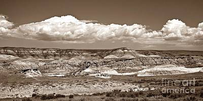 Photograph - Red Gulch, Wy Sepia by Chalet Roome-Rigdon
