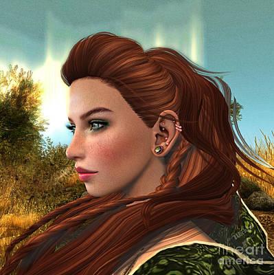 Photograph - Red Hair by Georgina Hannay