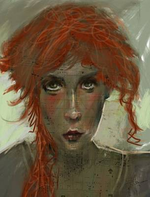 Painting - Red Haired by Jim Vance