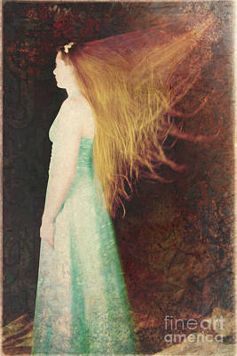 Photograph - Red Haired Movement by Clayton Bastiani