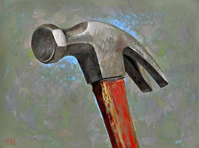 Red Hammer Original by Jeff Ott