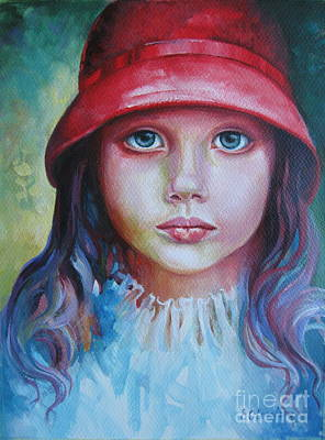 Painting - Red Hat by Elena Oleniuc