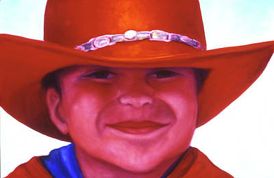 Painting - Red Hat Girl by Shannon Grissom