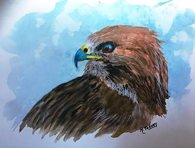 Painting - Red Hawk by Michele Turney