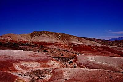 Photograph - Red Hills by Michael Courtney