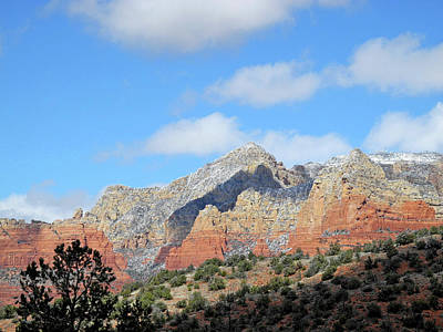 Photograph - Red Hills Ridge Shadow by Lynda Lehmann