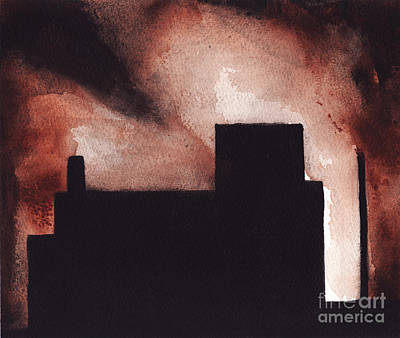 Painting - Red Hook by Ron Erickson