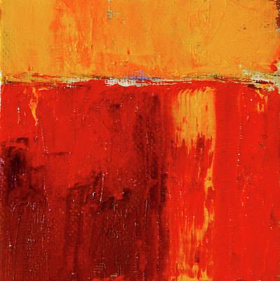 Painting - Red Horizon by Nancy Merkle