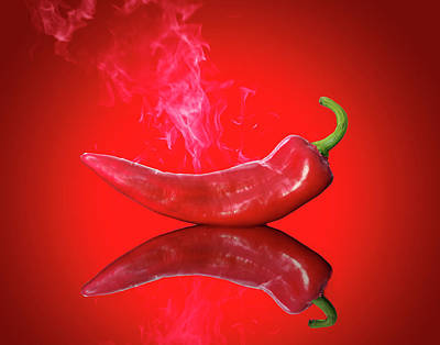 Red Hot Chili Pepper Art Print