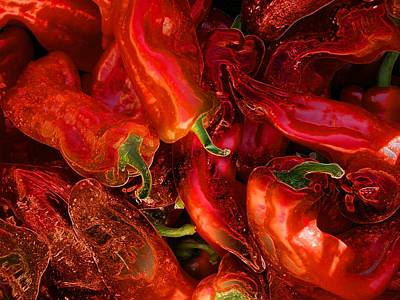 Digital Art - Red Hot Chili Peppers by Stuart Turnbull
