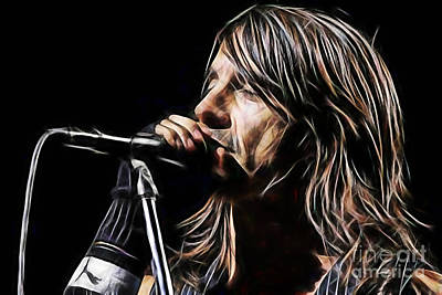 Red Hot Chili Peppers Anthony Kiedis Art Print
