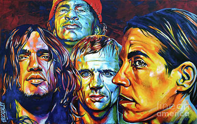Red Hot Chili Peppers Art Print