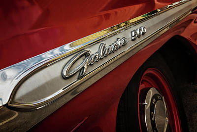 Photograph - Red Hot Galaxie by Caitlyn Grasso