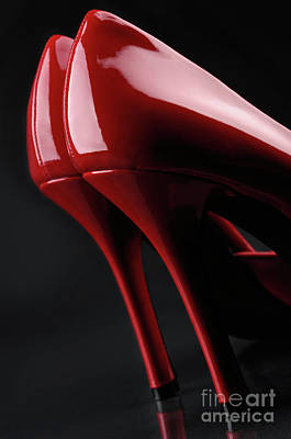 Red Hot High Heels Art Print by Oleksiy Maksymenko