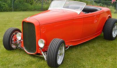 Photograph - Red Hot Rod by Charles HALL
