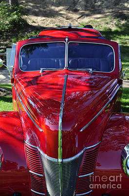 Photograph - Red Hot Rod by Clayton Bruster