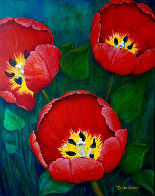 Painting - Red Hots by Tanja Ware