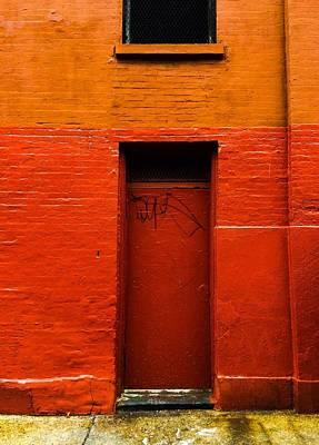 Greenpoint Photograph - Red House by Mike Rose