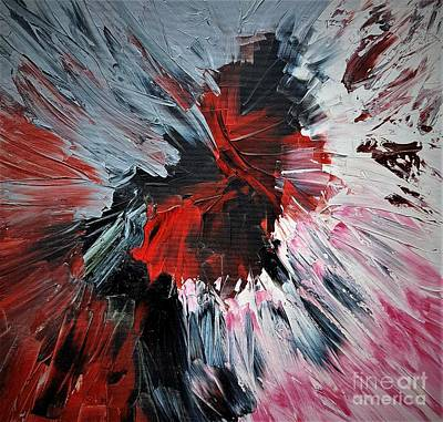 Painting - Red Impaso by Crystal Schaan