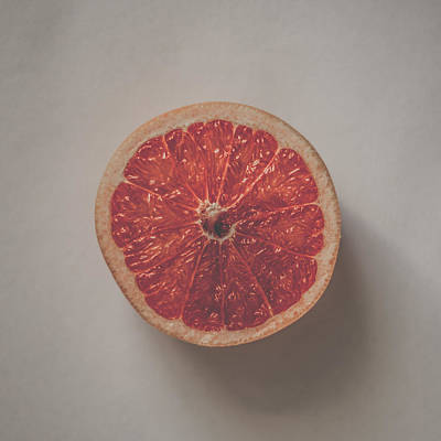 Grapefruit Photograph - Red Inside by Kate Morton