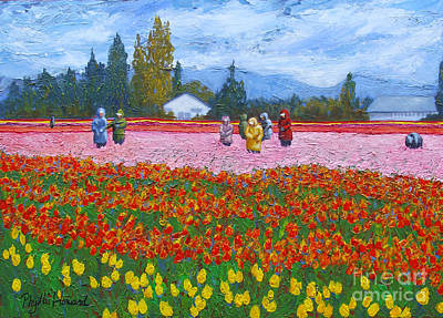 Painting - Red Jacket by Phyllis Howard