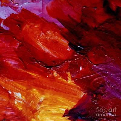 Mondrian Painting - Red  by John Clark