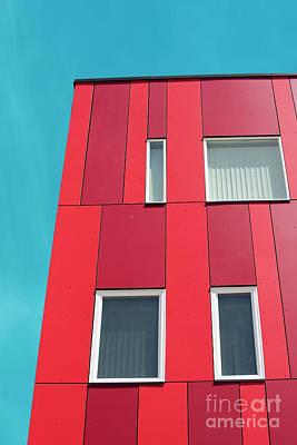Red Art Print by Juli Scalzi