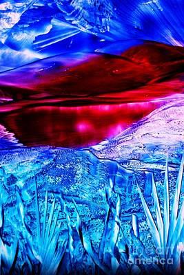 Painting - Red Lake by Melinda Etzold