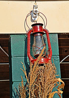 Photograph - Red Lantern by Linda Brown