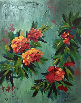 Painting - Red by Laura Cottrell