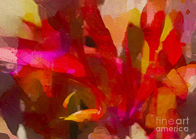 Photograph - Red Leaf Impressions by Judi Bagwell