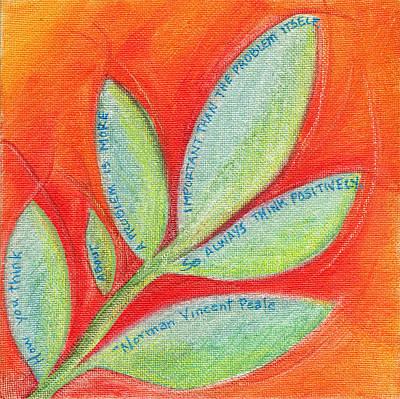 Red Leaf Inspiration Original by Audi Swope