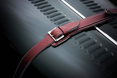 Photograph - Red Leather by David Hare