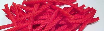 Red Licorice  Art Print