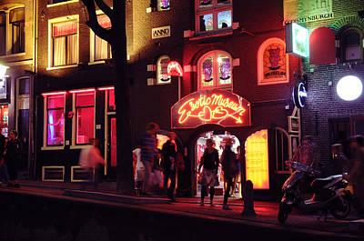 Red Light District Amsterdam Original by Evgeny Ivanov