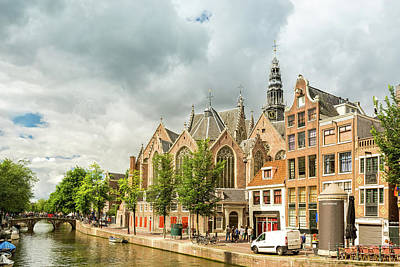Photograph - Red Light District Canal by Mihai Andritoiu