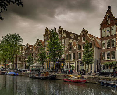 Red Light District  Art Print by Capt Gerry Hare