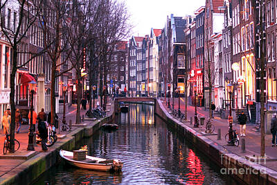 Photograph - Red Light District by John Rizzuto