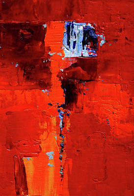 Painting - Red Light by Nancy Merkle