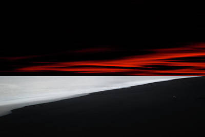 Photograph - Red Lines by Philippe Sainte-Laudy
