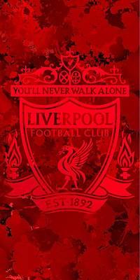 Liverpool Digital Art - Red Liverpool by Alberto RuiZ