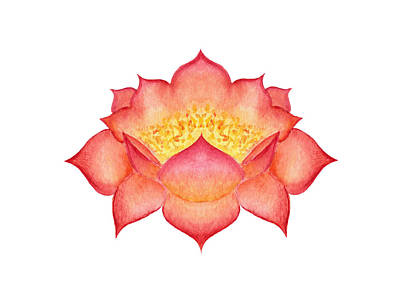 Painting - Red Lotus by Elizabeth Lock