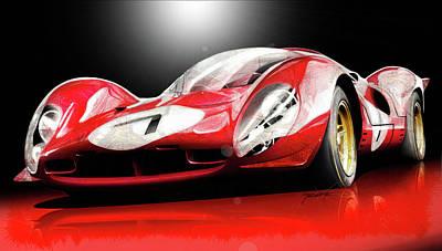 Red Love Original by Tano V-Dodici ArtAutomobile